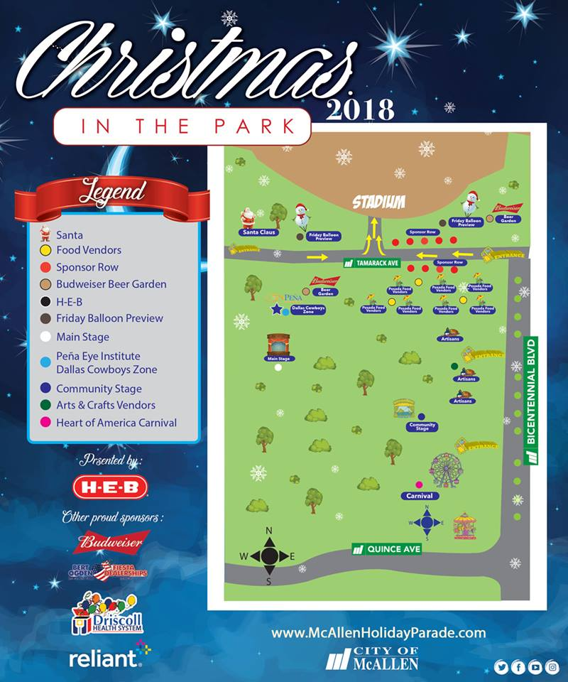 Christmas in the Park 2018 | Explore McAllen
