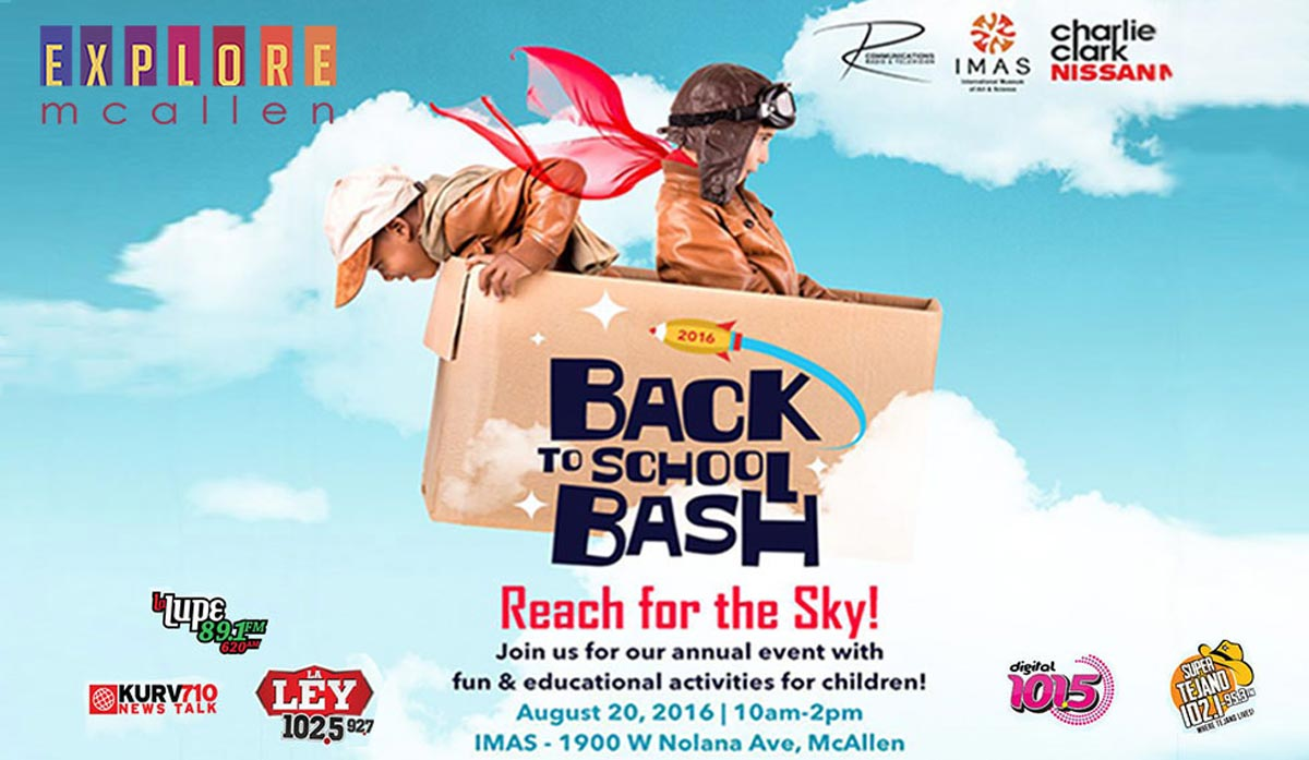 Don't Miss Back to School Bash 2016 on Saturday, August 20th at the