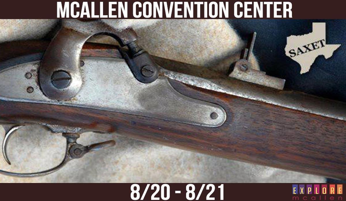 Be Sure to Catch the SAXET Gun Show at the McAllen Convention Center! |  Explore McAllen