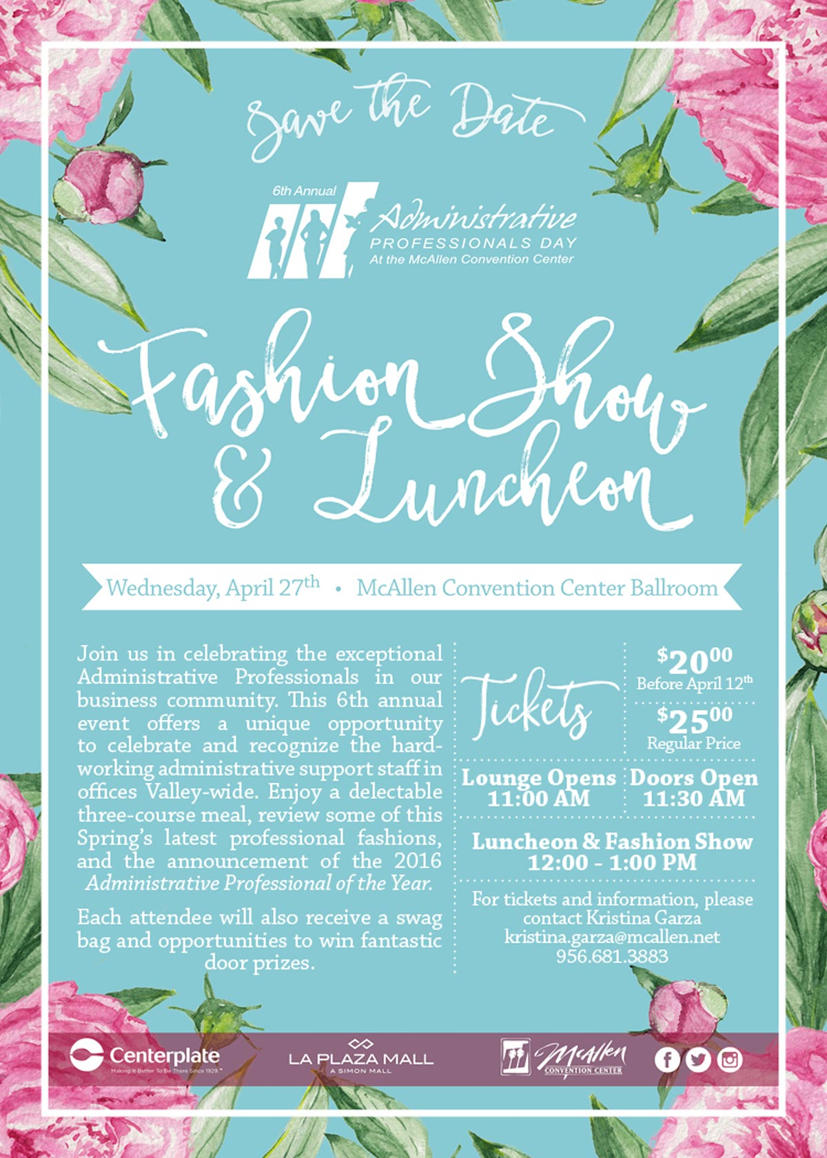 The 6th Annual Administrative Professional Fashion Show and
