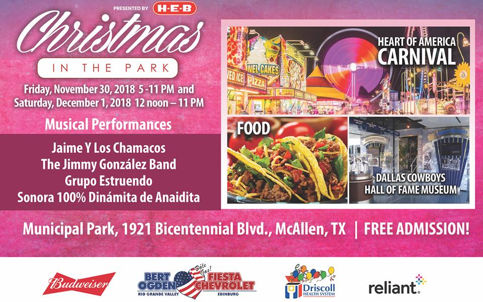 Christmas In The Park | Explore McAllen