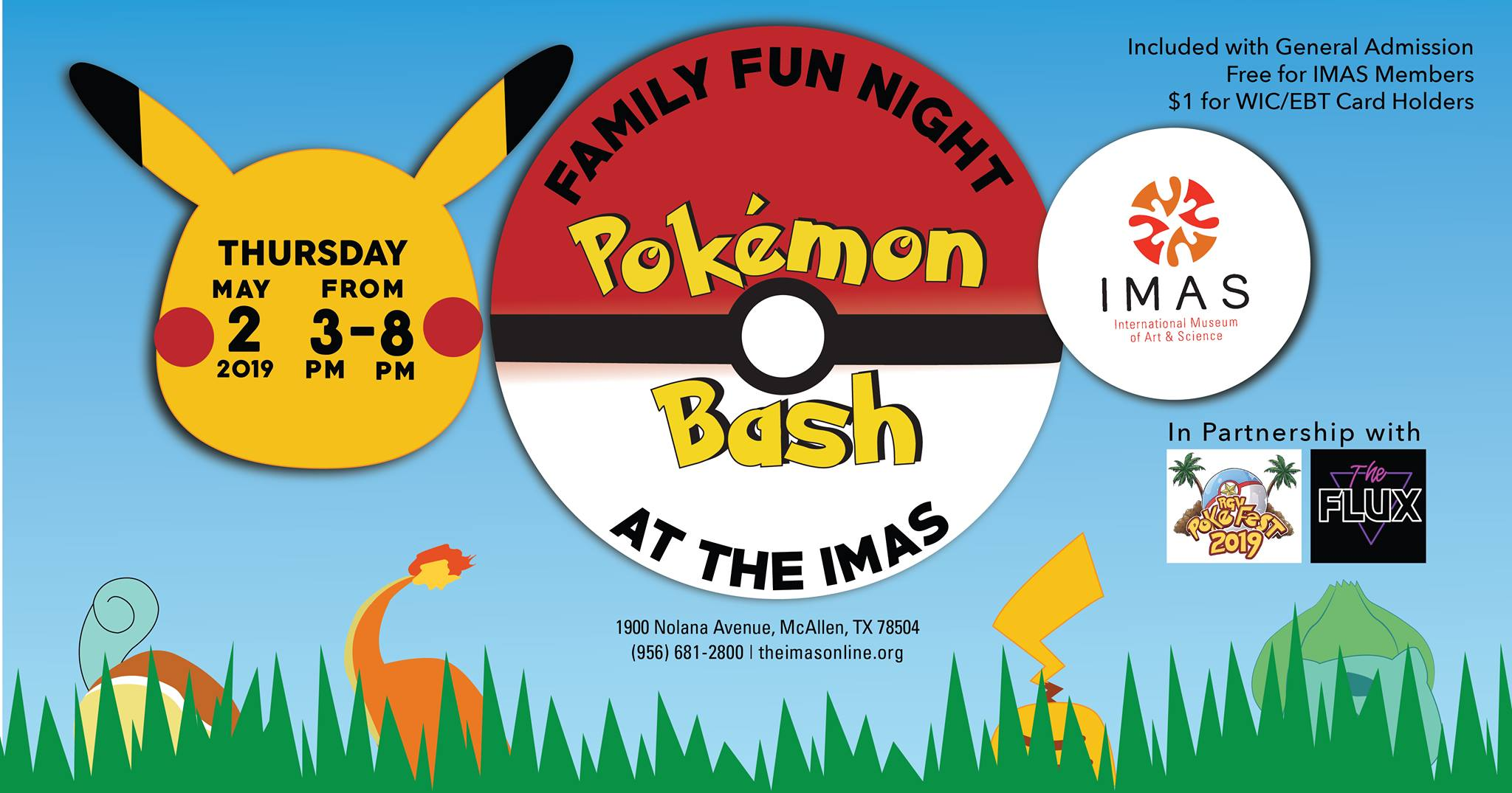 Pokemon Bash At The Imas Explore Mcallen