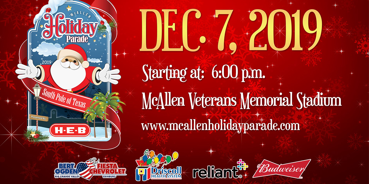 Christmas Parades Near Me 2019.Annual Mcallen Holiday Parade Explore Mcallen