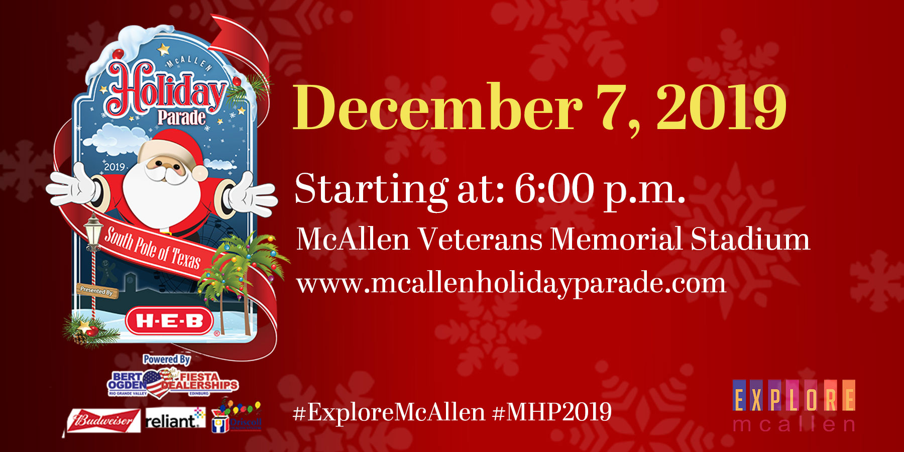 Mcallen Christmas Parade 2020 Route Annual McAllen Holiday Parade | Explore McAllen