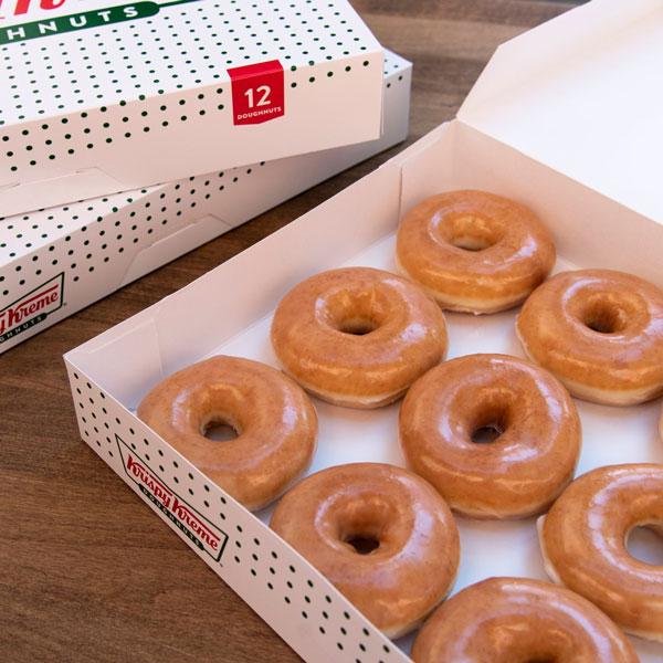 National Donut Day in McAllen - Krispy Kreme