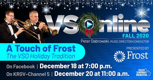 A Touch of Frost - the VSO Holiday Tradition