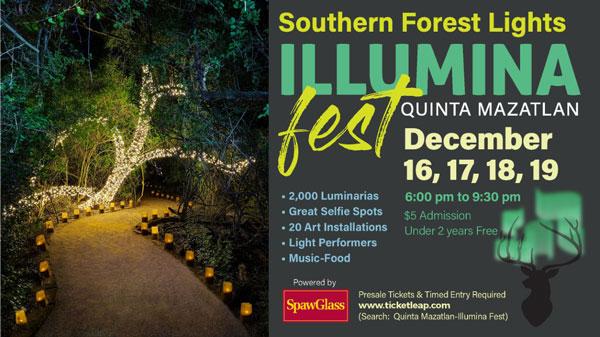 Quinta Mazatlán's Illumina Fest