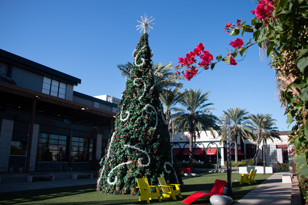 The La Plaza Mall Christmas Tree