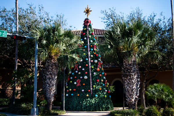 The Art Village Christmas Tree