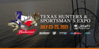 The 30th Annual Texas Hunters & Sportsman's Expo from July 23rd Through the 25th